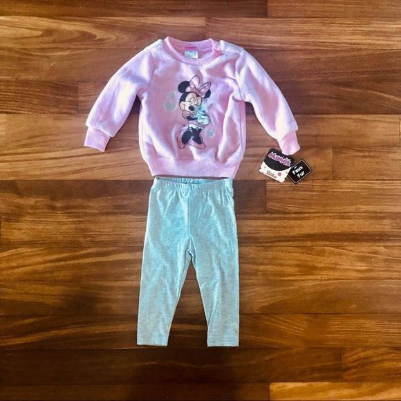 BNWT Girls Baby Brand Size 0 Cute Fuzzy Hoodie Jacket Pants /& Slippers Set